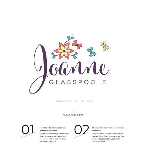 Hippie design with the title 'Boho Logo'