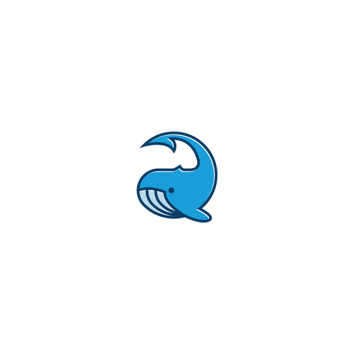 Fishing hook logo with the title 'Bold logo concept for Detalcmo'