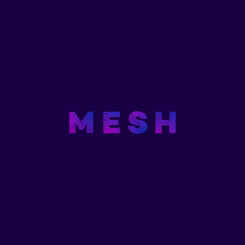 Mesh logo with the title 'MESH logo'