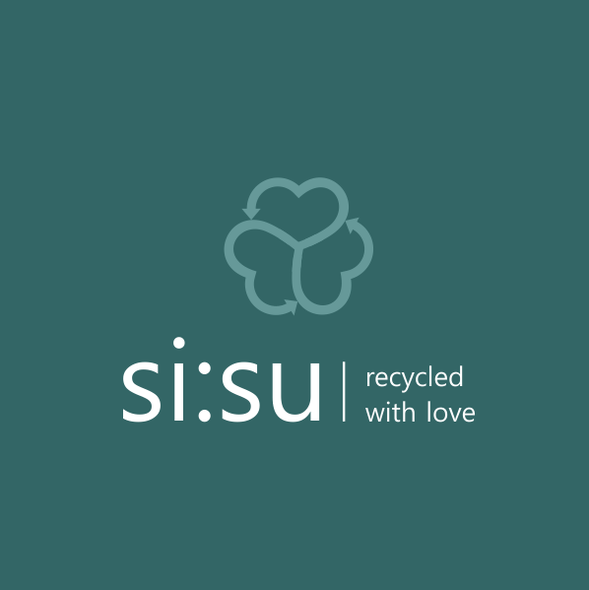 Recycling design with the title 'si:su'
