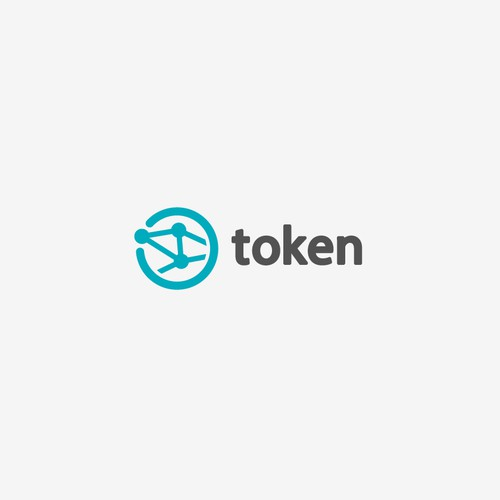 Display design with the title 'token'