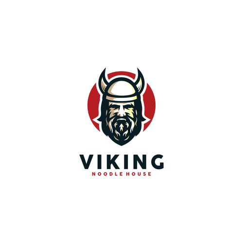 Noodle logo with the title 'Viking Noodle House'