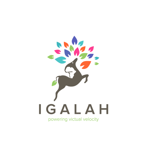 Multicolor design with the title 'IGALAH'