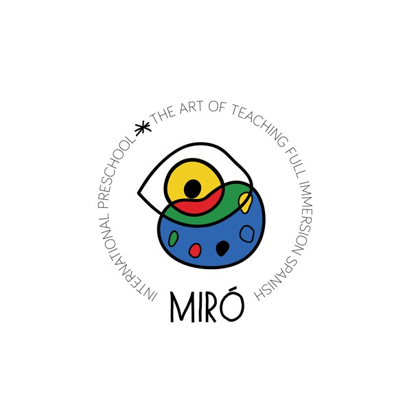 Preschool logo with the title 'Dada logo for art preschool '