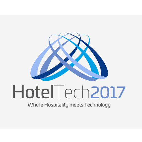 Hotel design with the title 'HotelTech'
