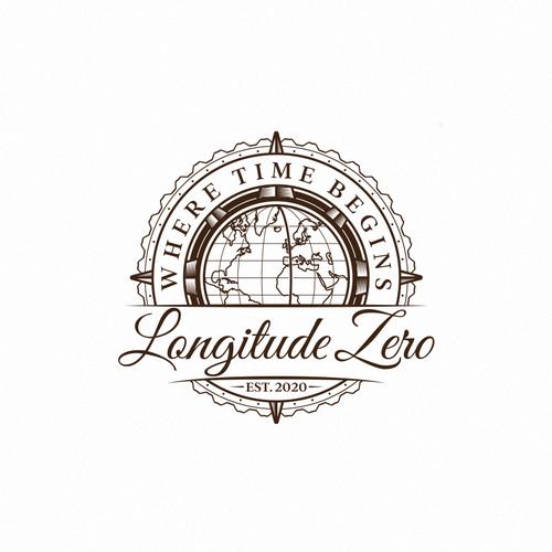 Navigation design with the title 'Longitude Zero'