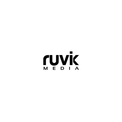 Conceptual brand with the title 'Simple logo concept for Ruvik'