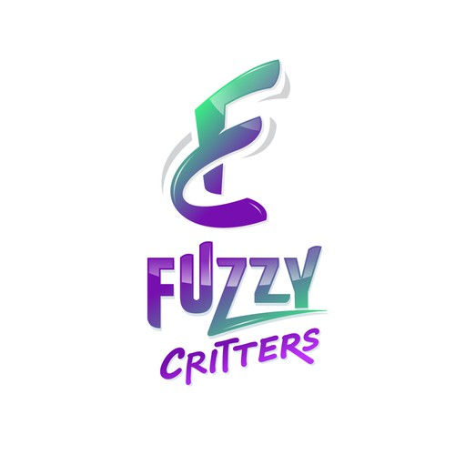 Swoosh design with the title 'Fuzzy Critters'