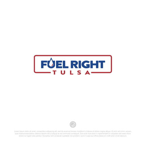 Fuel logo with the title 'Logo entri for Fuel Right Tulsa'
