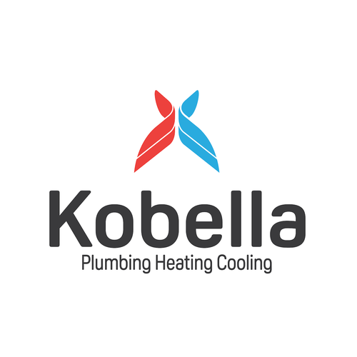 Cooling logo with the title 'HVAC Logo'
