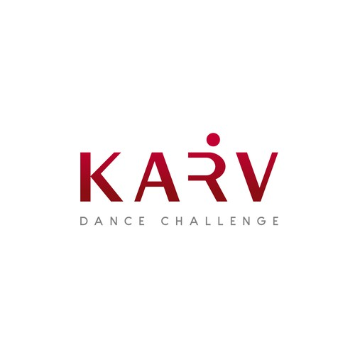 Competition logo with the title 'Dance Challenge Logo'