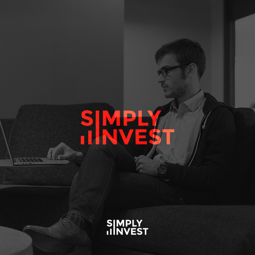 Financial service logo with the title 'SimpyInvest'