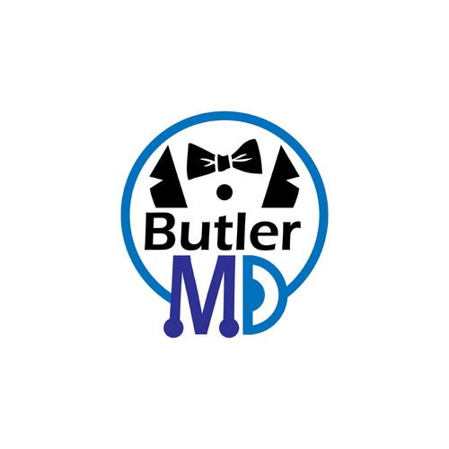 Butler logo with the title 'Logo Design Entry for Butler MD'