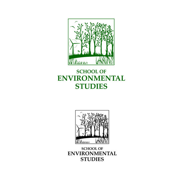 Pond logo with the title 'School of Environmental Studies'
