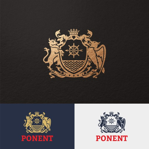 Arms logo with the title 'Logo for Ponent'