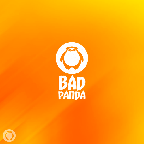 Bear logo with the title 'Bad Panda'