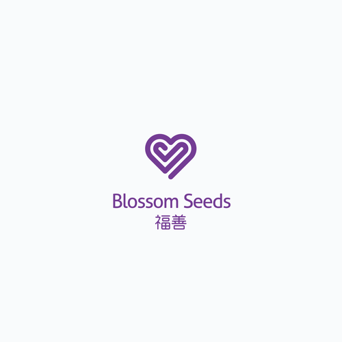 Lovely logo with the title 'Logo for Blossom Seeds'