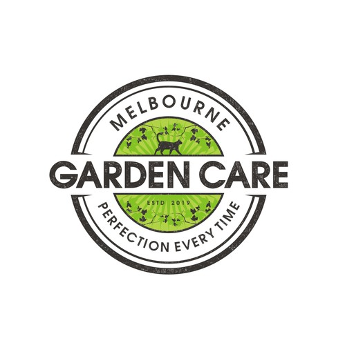 Garden design with the title 'Create a modern logo for a gardening company'