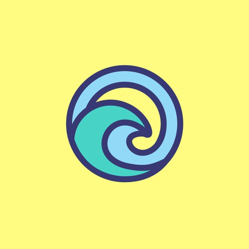 Sea design with the title 'wave point'