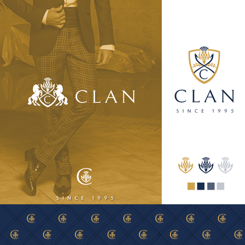 Scottish design with the title 'My Clan'