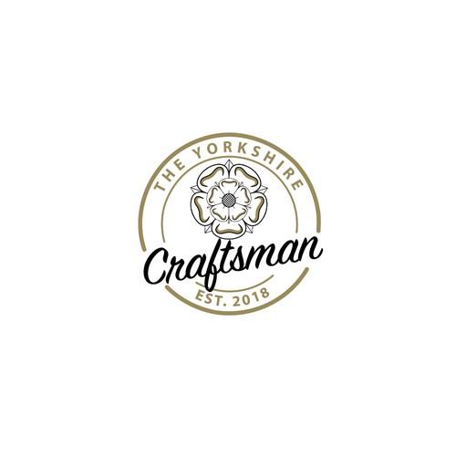 Craftsman logo with the title 'Yorkshire Craftsman Logo White Background'