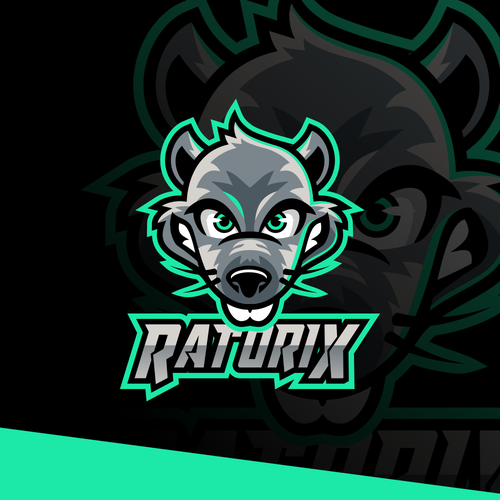 Neon design with the title 'Ratorix'