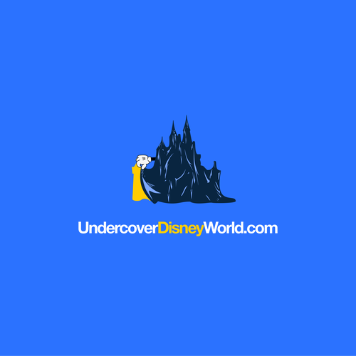Disney design with the title 'Behind the Curtain of Disney World'