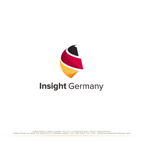 I design with the title 'Logo Concept for Insight Germany'