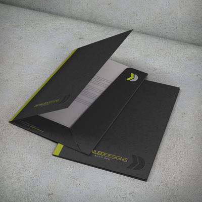 Presentation folder for Detailed Designes