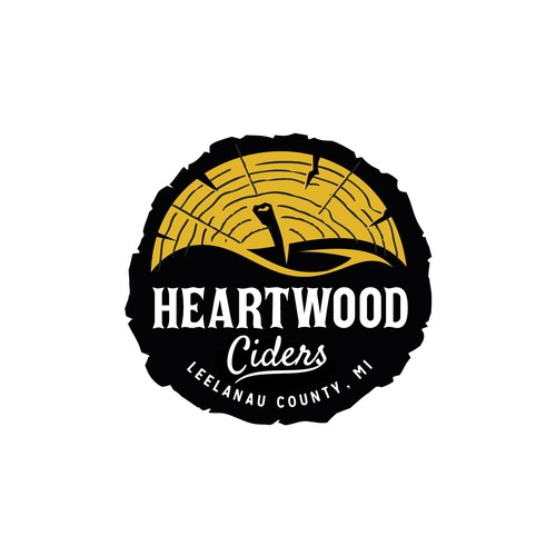 Apple design with the title 'Heartwood'
