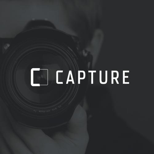 Photo design with the title 'Minimalistic Photoframe Logo'