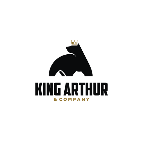 Dynamic logo with the title 'King Arthur & Company'
