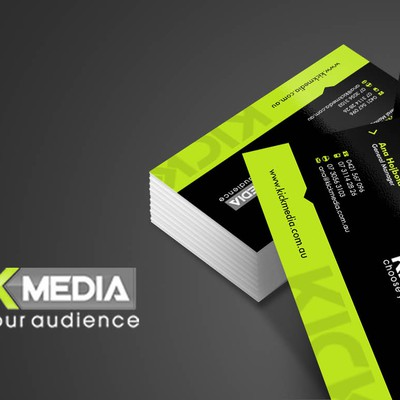 Trendy New Digital Agency requires a B Card Design for their new Brand