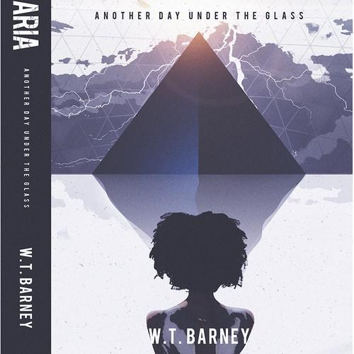 Black book cover with the title 'Terraria - Sci Fi Book Cover'