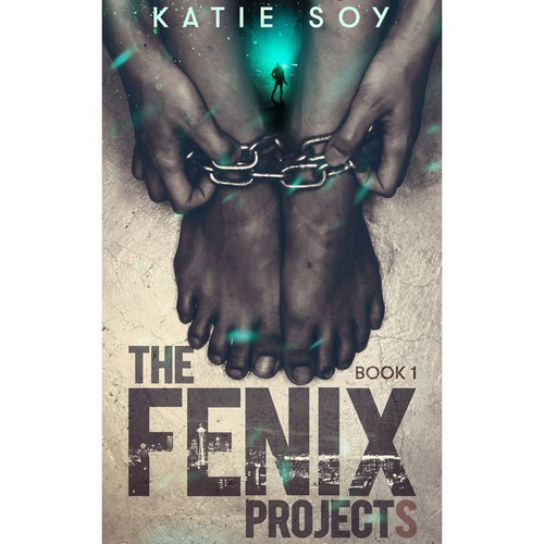 Detective book cover with the title 'The Fenix Projects.'