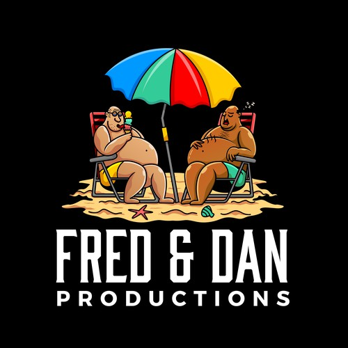 Film logo with the title 'FRED & DAN'