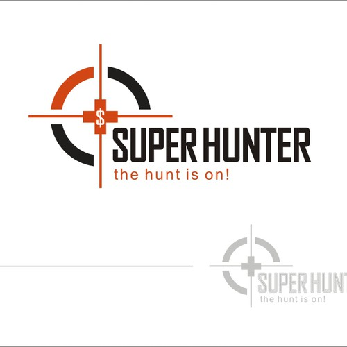 Bank account logo with the title 'New logo wanted for Superhunter'