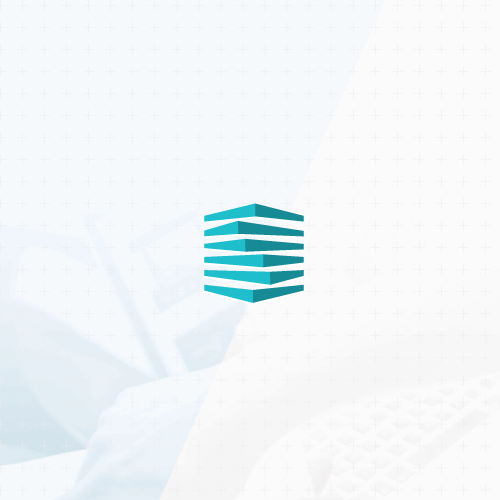 Abstract logo with the title 'Abstract minimalistic logo'