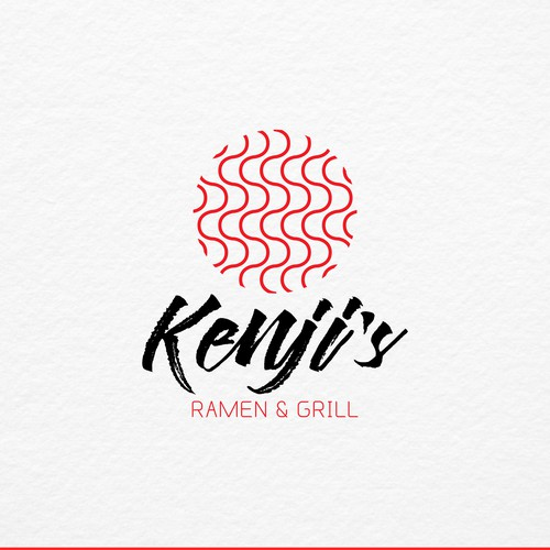 Korea logo with the title 'Japanese Ramen'