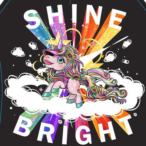 Sunshine design with the title 'Sunshine Unicorn '