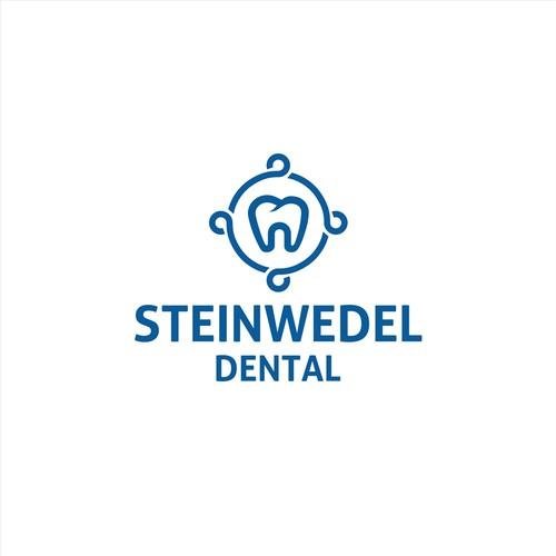 Dental logo with the title 'dentistry dental logo'
