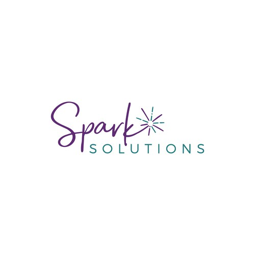 Spark logo with the title 'Logo for Digital Marketing Agency'