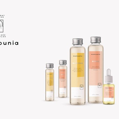 Mamounia HairCare Packaging