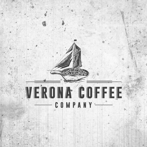 Factory logo with the title 'Seeking logo for hip new downtown coffee shop'