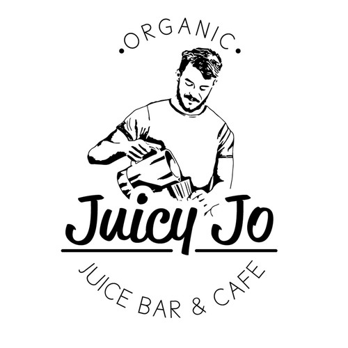 Juice brand with the title 'Juicy Jo Logo'