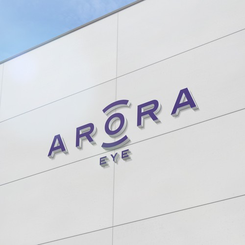 Ophthalmology logo with the title 'Arora Eye'