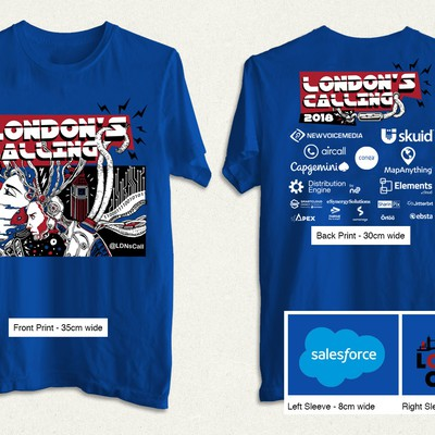 London's calling t-shirt 2018