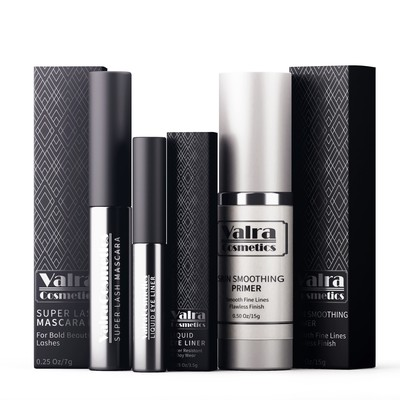 Packaging Designs for Valra Cosmetics
