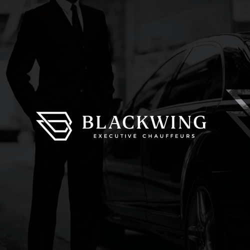Masculine brand with the title 'BLACKWING'