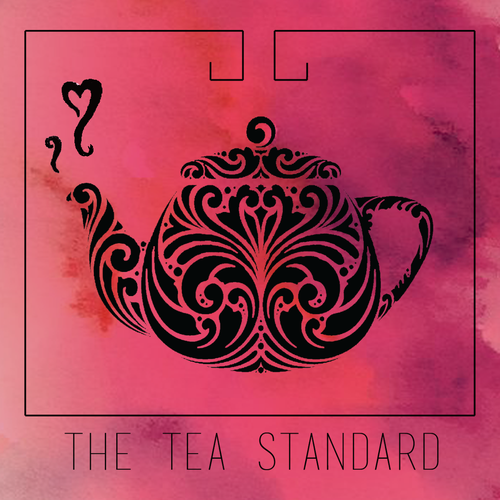 Teapot design with the title 'Logo concept for The TEA Standard'